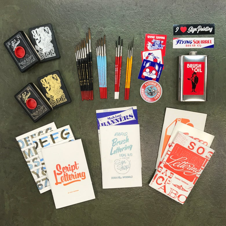 Image of Super Deluxe Sign Painter Value Set