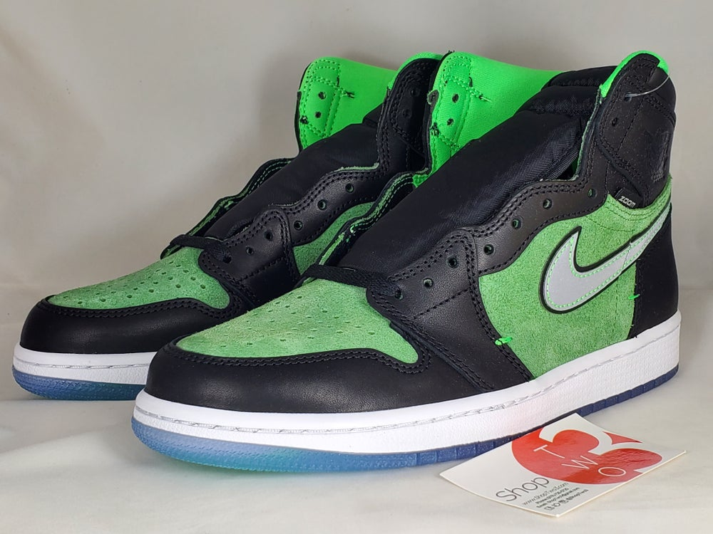 Image of Jordan 1 Retro High Zoom Zen Green