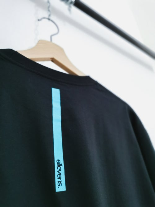 Image of E11evens - Black / turquoise chest and rear strip
