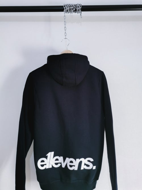 Image of E11evens - Zipped weighted hoodie