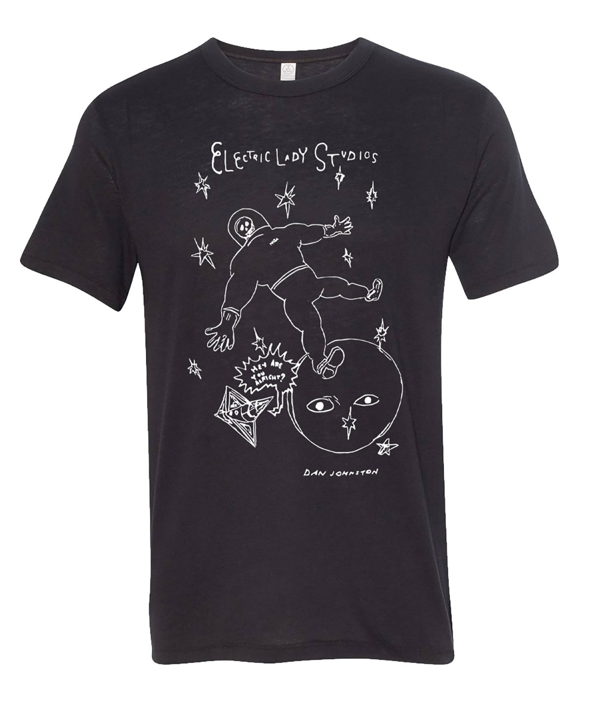 "Image of Daniel Johnston x ELS ""Lost in Space"" Tee in Black"