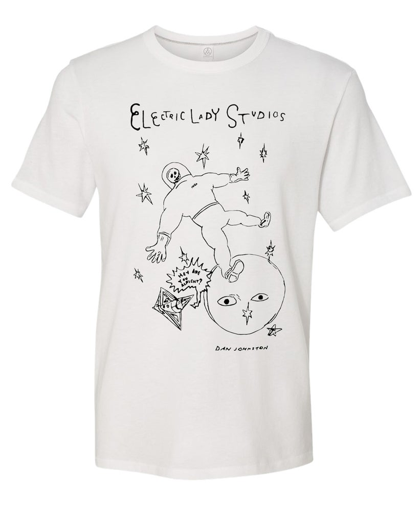 "Image of Daniel Johnston x ELS ""Lost in Space"" Tee in White"