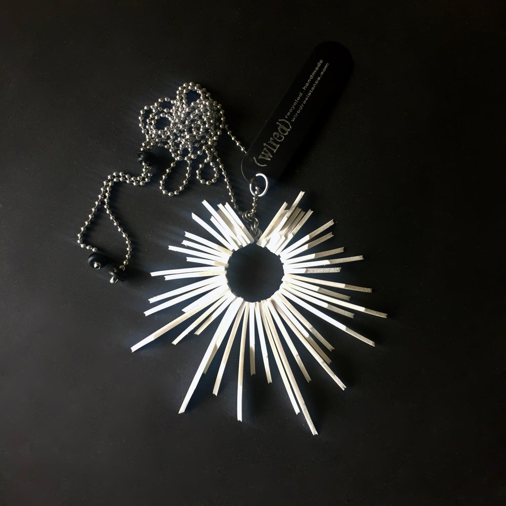 Image of Sunburst Adjustable Necklace