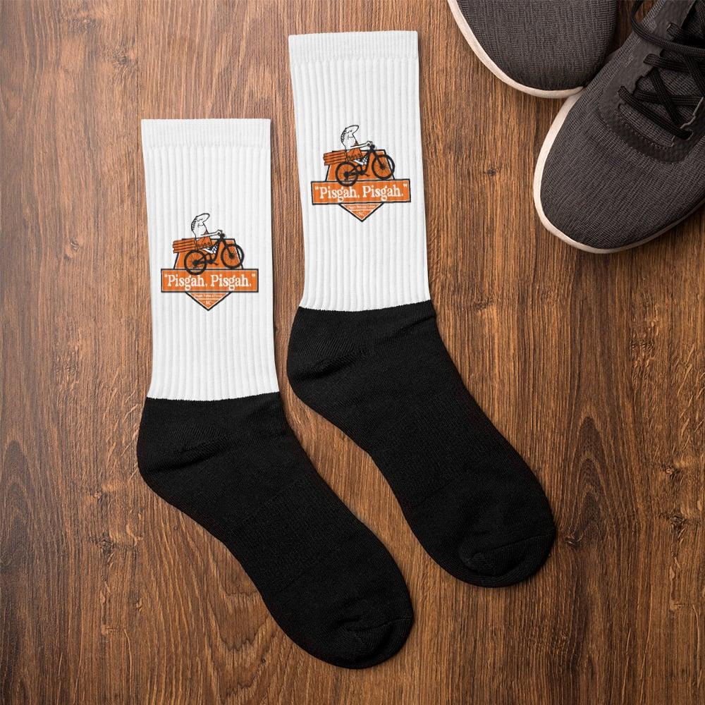 """Pisgah, Pisgah"" Socks"