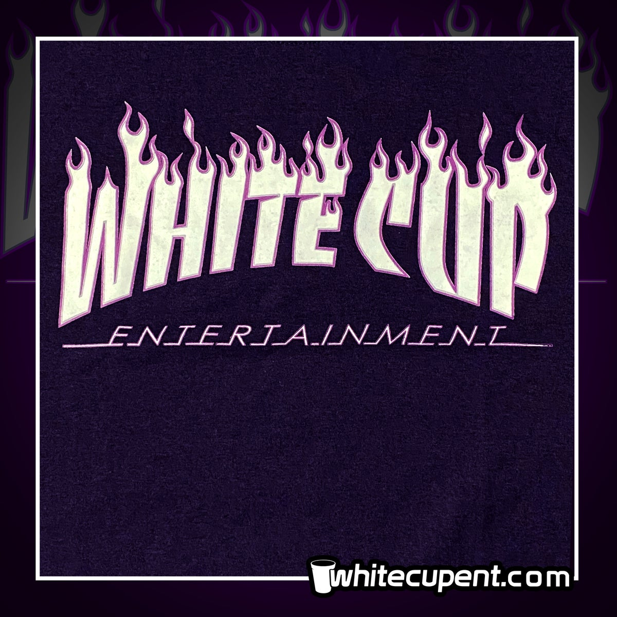 White Cup Thrasher flames