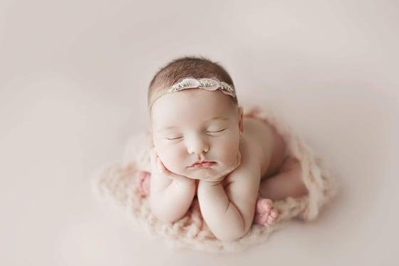 Image of Gisele headband (blush)