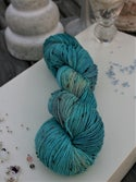 Paint + Rinse series - hand painted/dyed yarn - Southwest Bauble