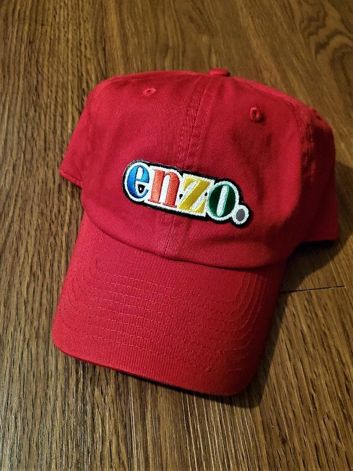 Image of Enzo Cap (Enzo Red)