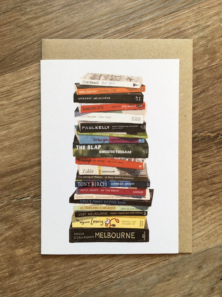Image of Melbourne Greeting Card