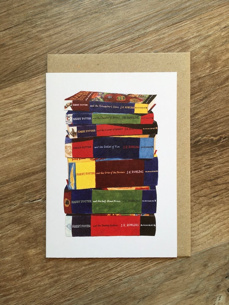 Image of HP Complete Set Greeting Card
