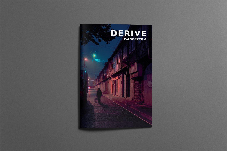 Image of DERIVE Wanderer ZINE #4