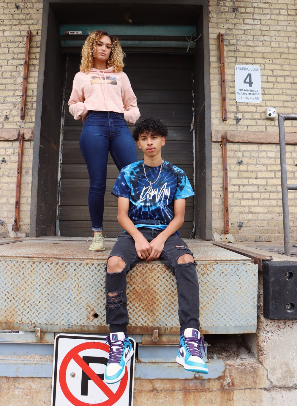 Image of NEW Blue Tie Dye Shirts