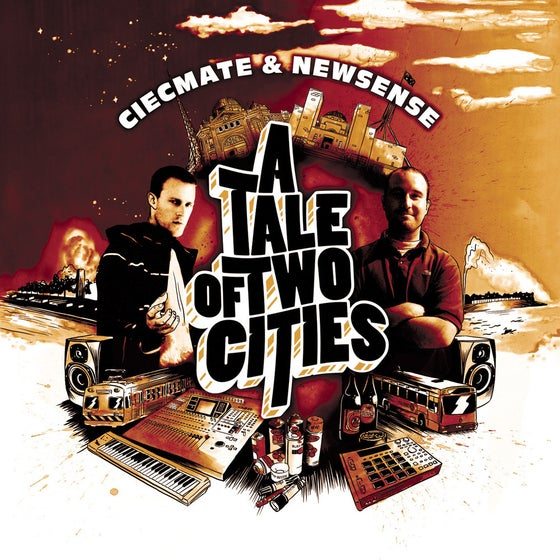 Image of BTE014 - CIECMATE & NEWSENSE - A Tale Of Two Cities