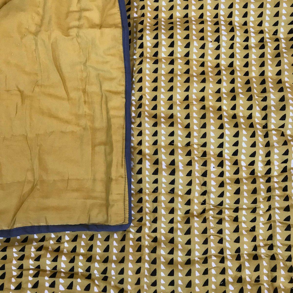 Image of Trinidad Mustard Little Quilt