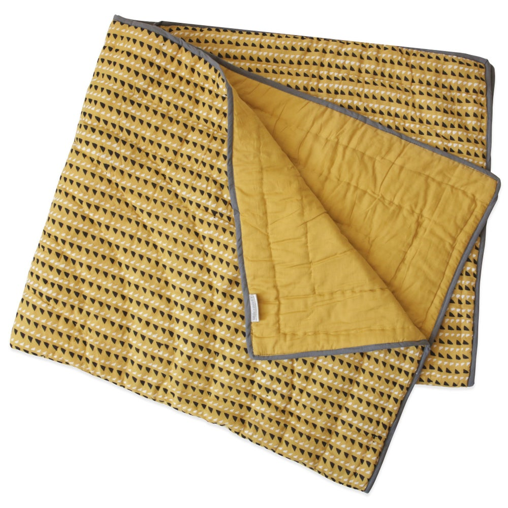 Image of Trinidad Mustard Little Quilt