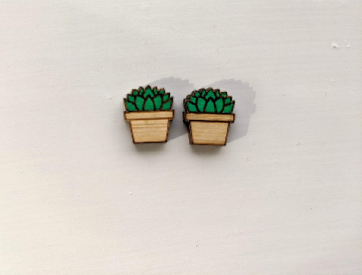 Image of Succulent Lover Studs