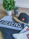 E11evens - Suede peak caps