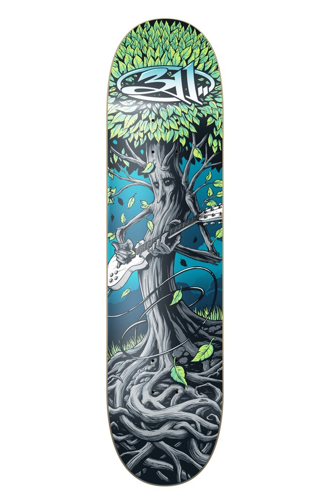 Image of Brandon Heart 311 Skateboard Deck