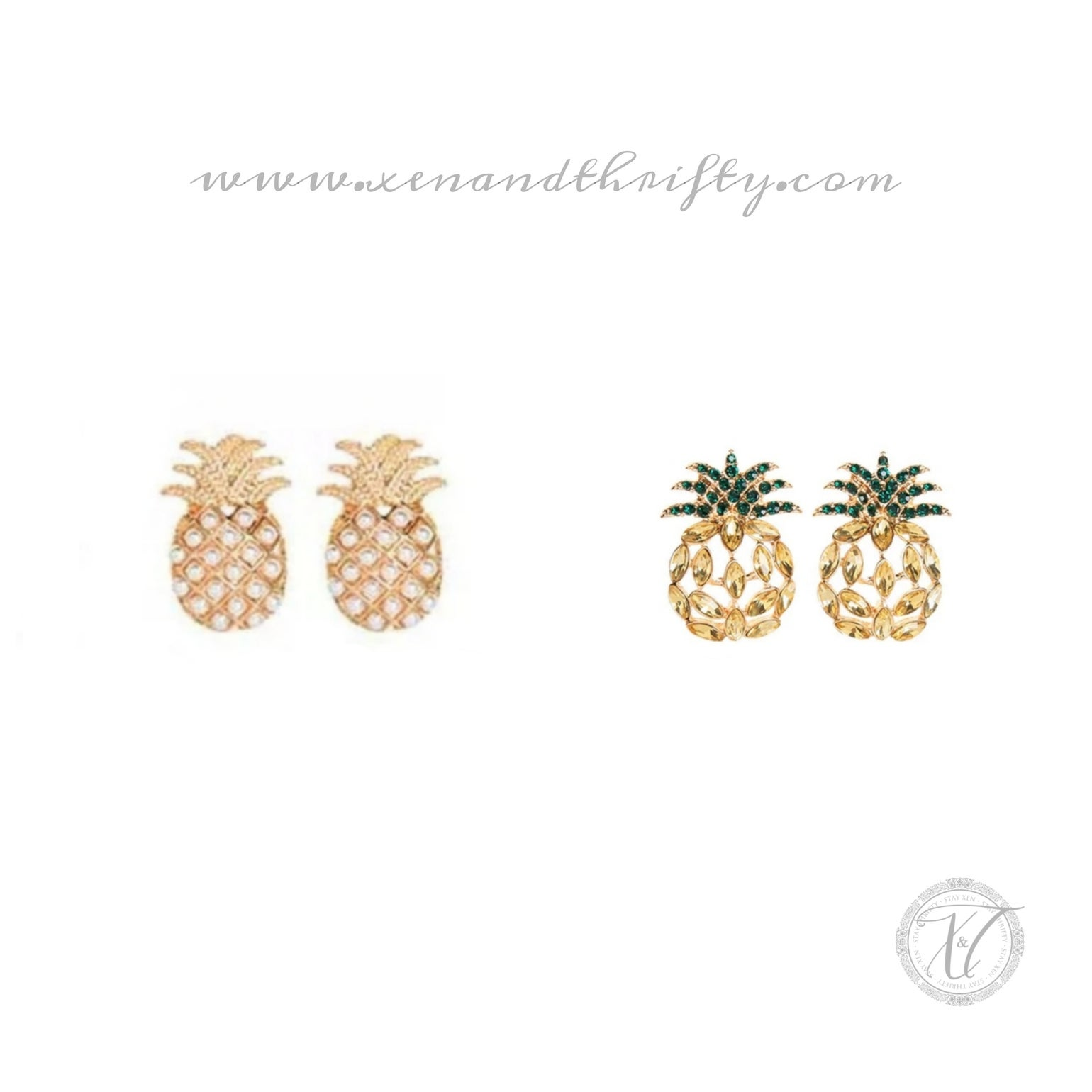 Image of Ananas earring