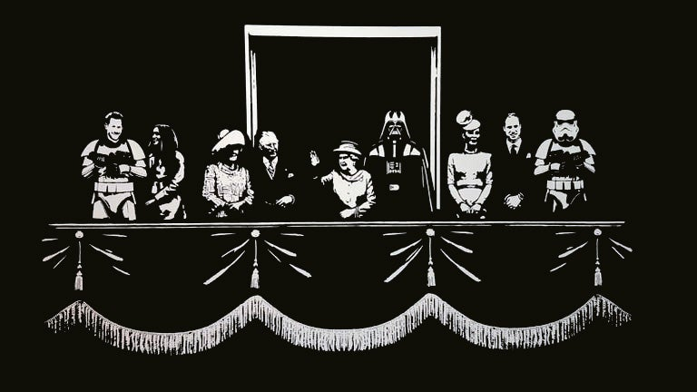 Image of TrustIcon - The Dark Side - Silver