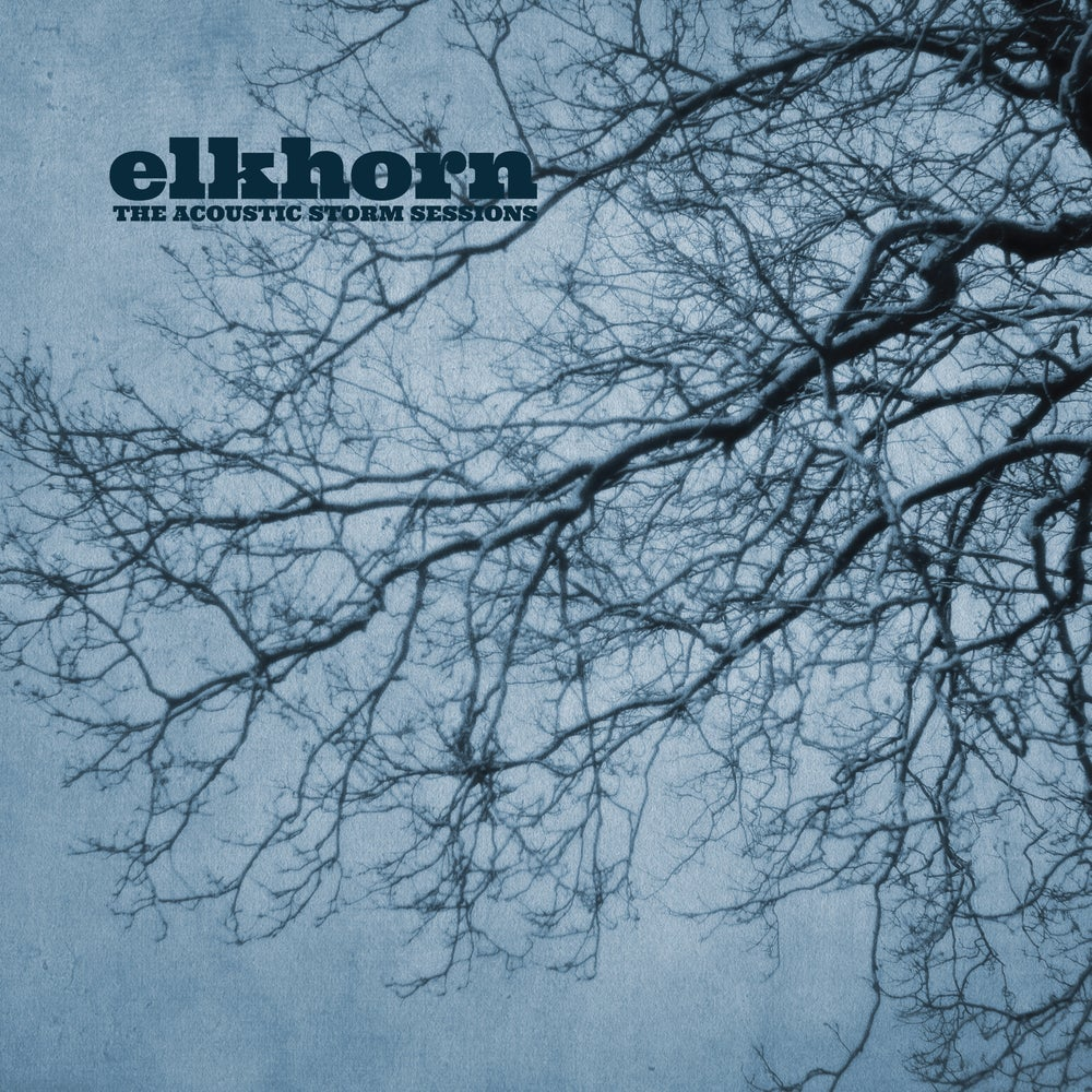 Image of Elkhorn - Acoustic Storm (CARDINAL FUZZ) Heavy Black Vinyl