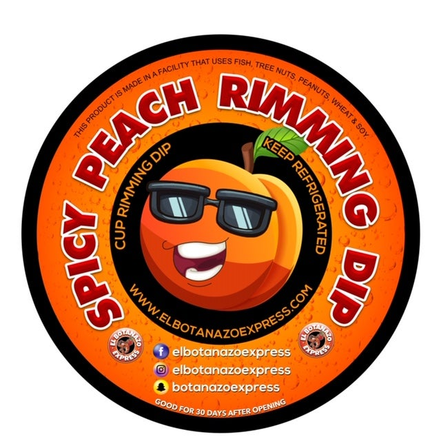 Image of Spicy Peach Rimming Dip (NEW)