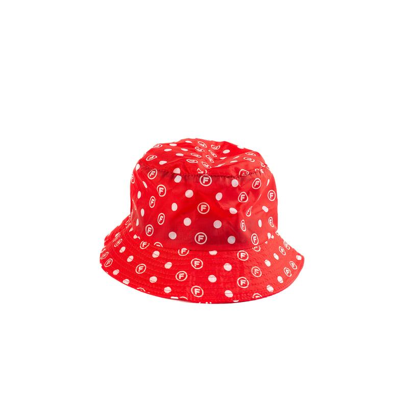 Image of OriginalFani®design Fan-dana™ Bucket Hat (Red)