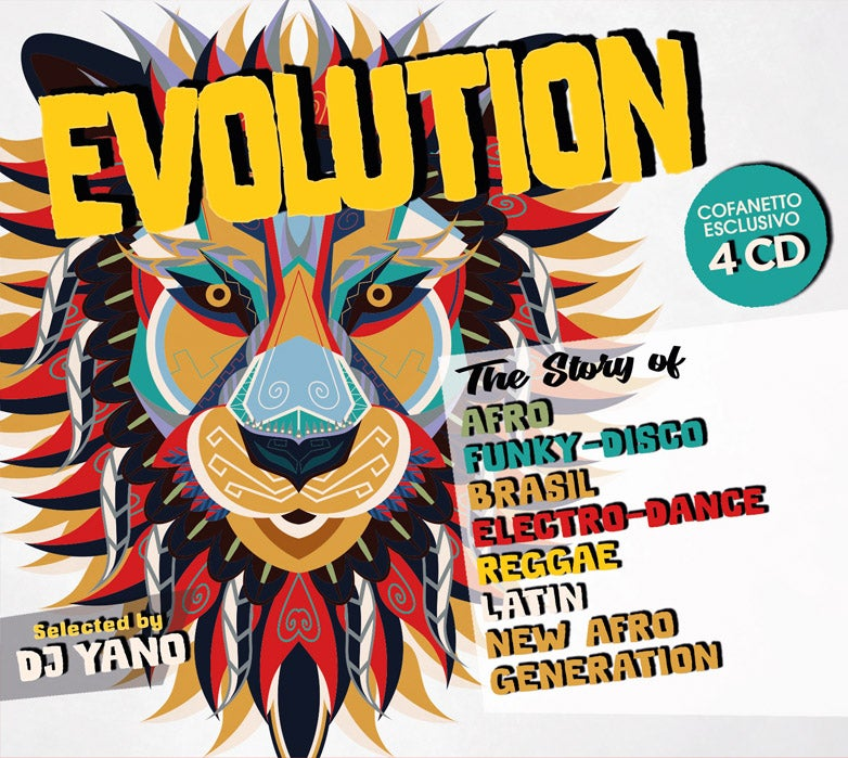Image of KIK074-2 // EVOLUTION - SELECTED BY DJ YANO (COFANETTO 4 CD)