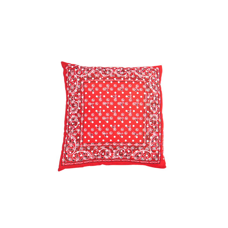 Image of OriginalFani®design Santana Fan-dana™ Pillow/Cushion (Red)