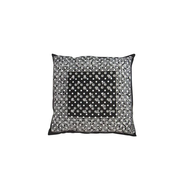 Image of OriginalFani®design Santana Fan-dana™ Pillow/Cushion (Black)