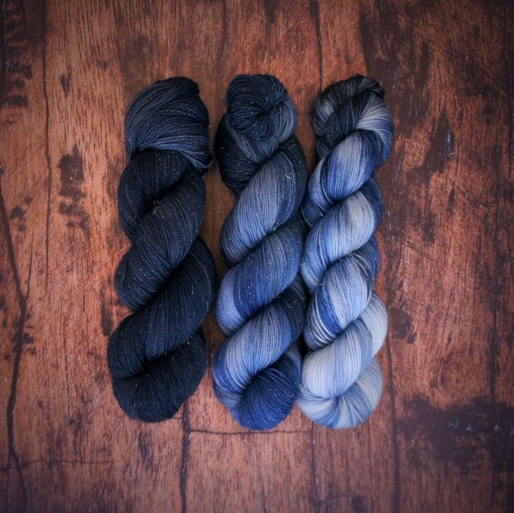 Image of STRONG&SHINY fade bleu très nuancé