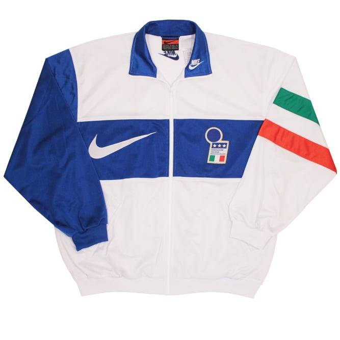 Image of Nike Vintage Italy Full Tracksuit 96/97 Size L