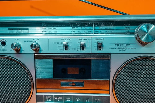 Image of TOSHIBA RT-120S (1983) BOOMBOX BLUETOOTH
