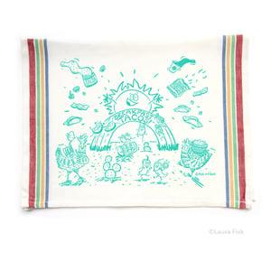 Image of Breakfast Tacos Tea Towel