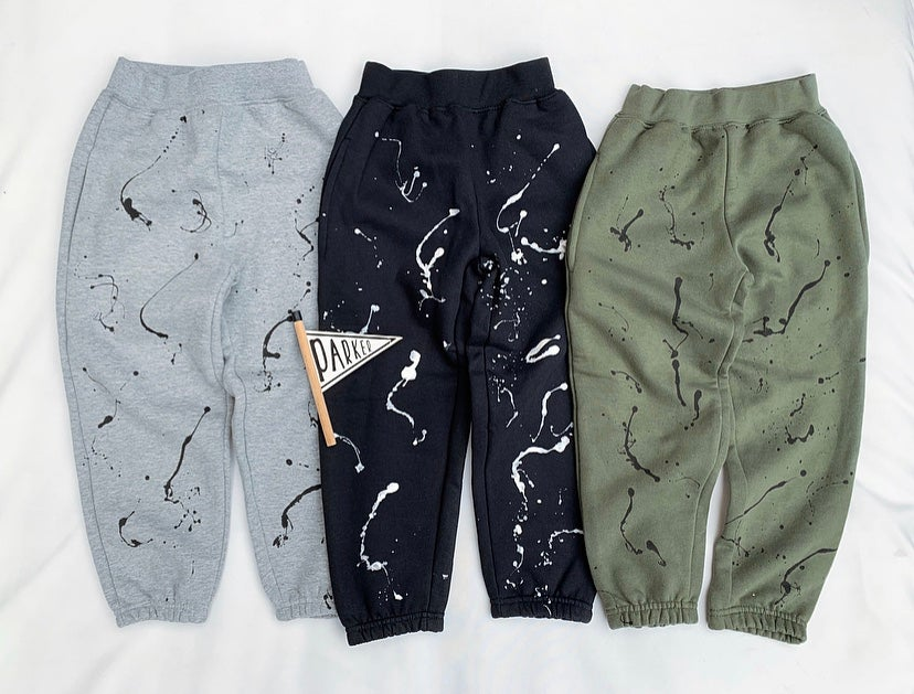Image of Grey Splat Joggers