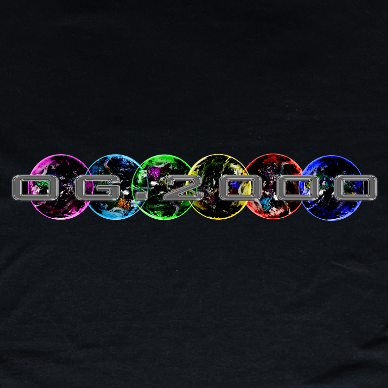 """Image of """"STEEL PLANETS"""" T-SHIRT *** BLACK"""