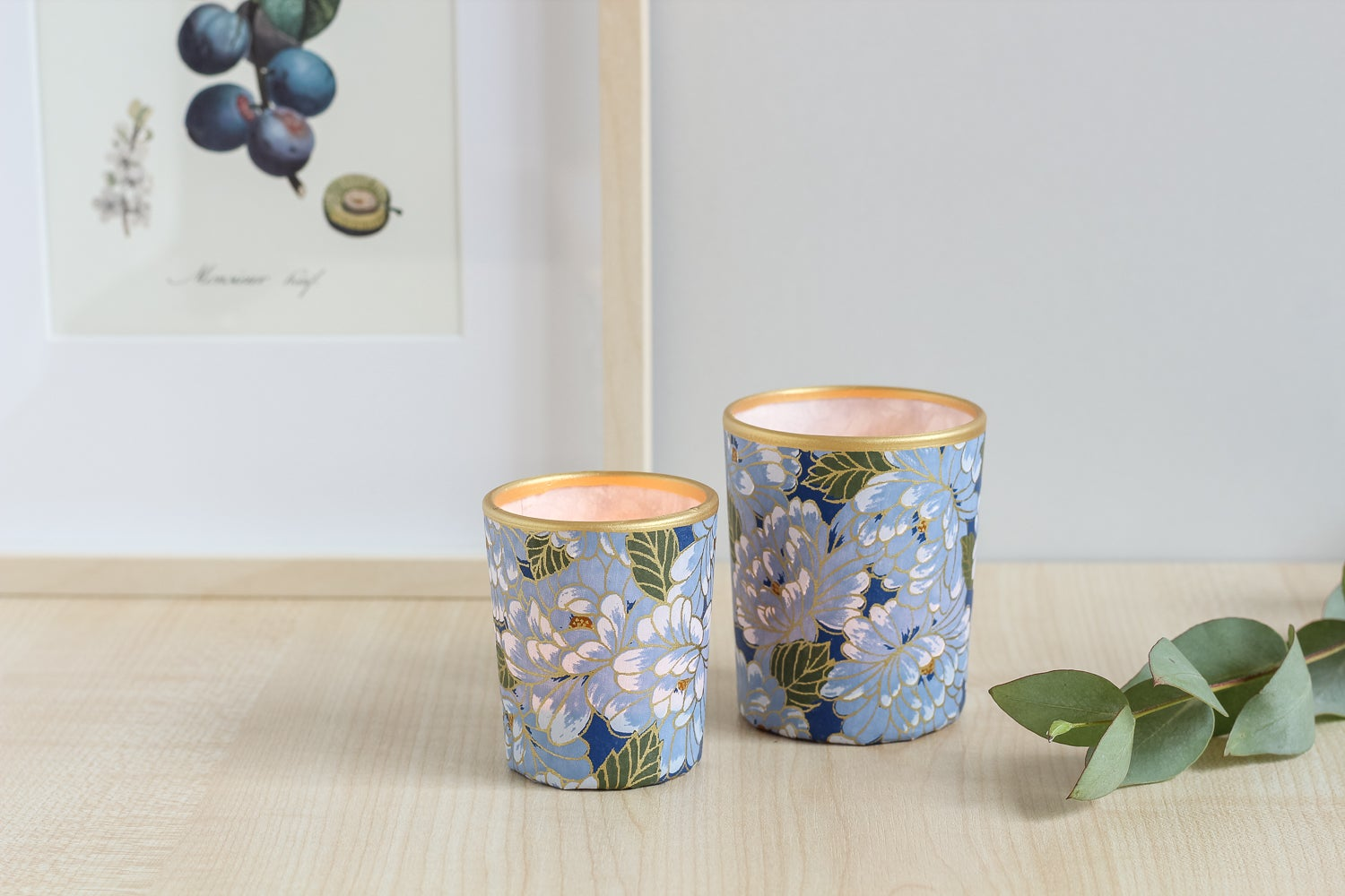 Image of Candle holders * Hana * Blue