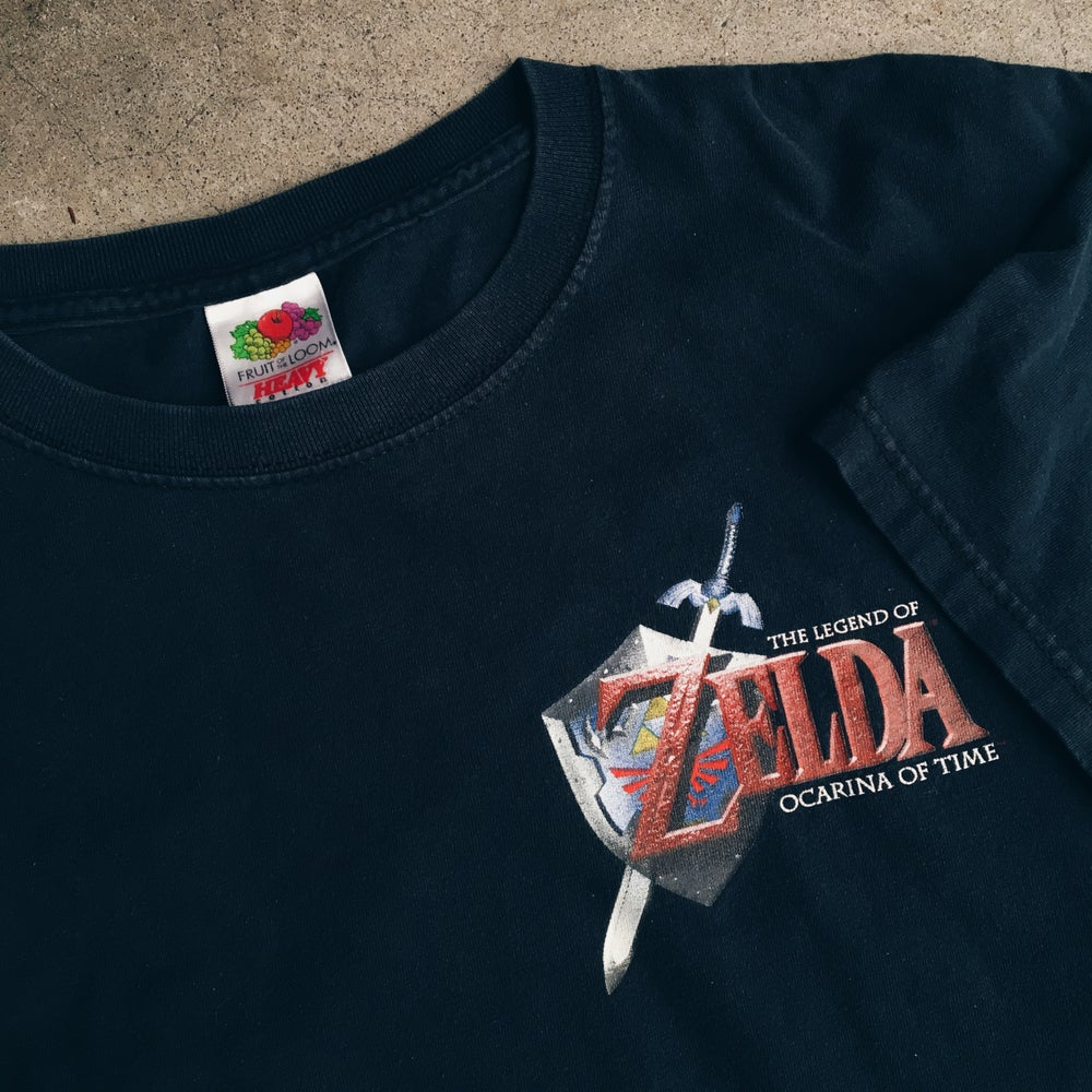 Image of Original 2001 Zelda Ocarina Of Time Tee.