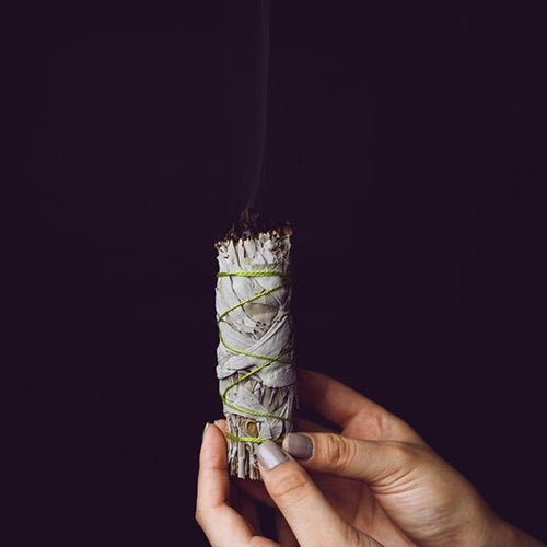 Image of Sage Smudge Stick in a Pouch