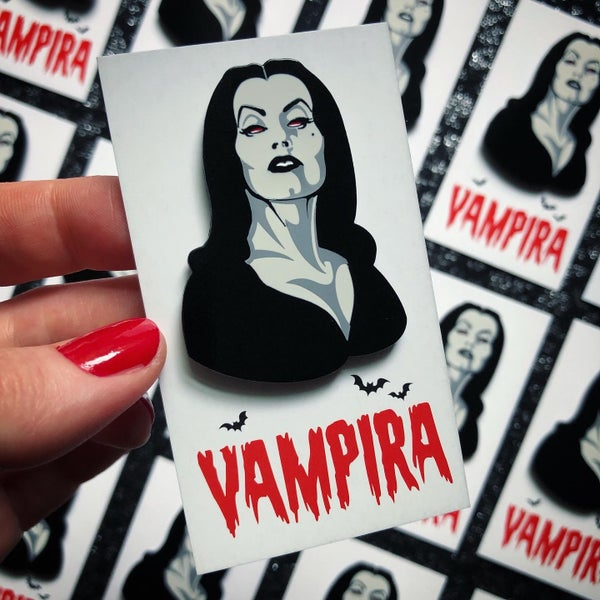 Image of VAMPIRA Enamel Pin