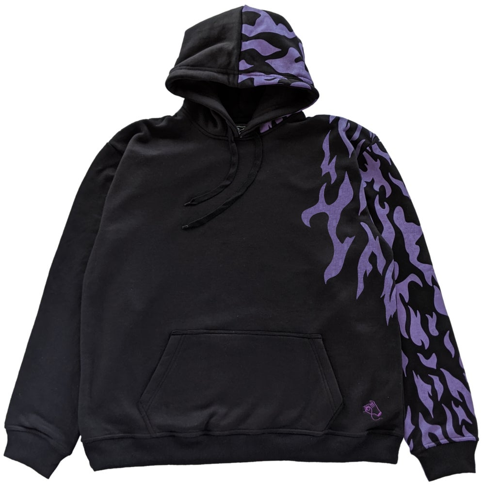 Image of Curse Mark Hoodie Black