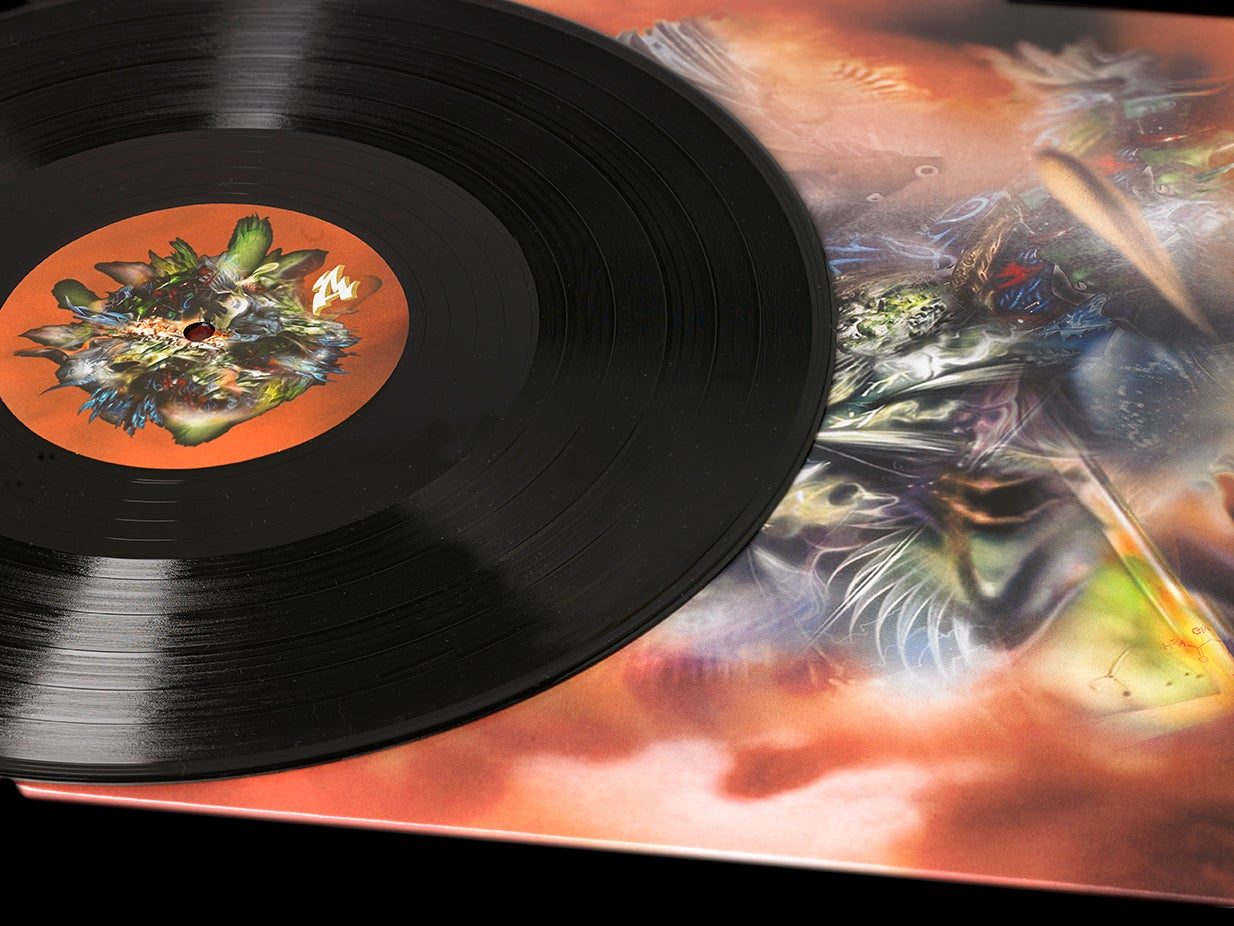 Image of KINGDOM - NEUROFIRE - LIMITED EDITION VINYL