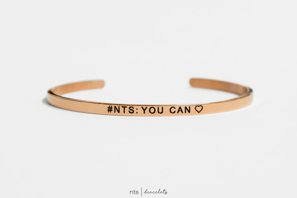 Image of #NTS: YOU CAN <3 (Rose Gold)