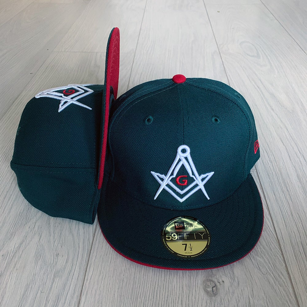 Image of Forest Green New Era 59Fifty.