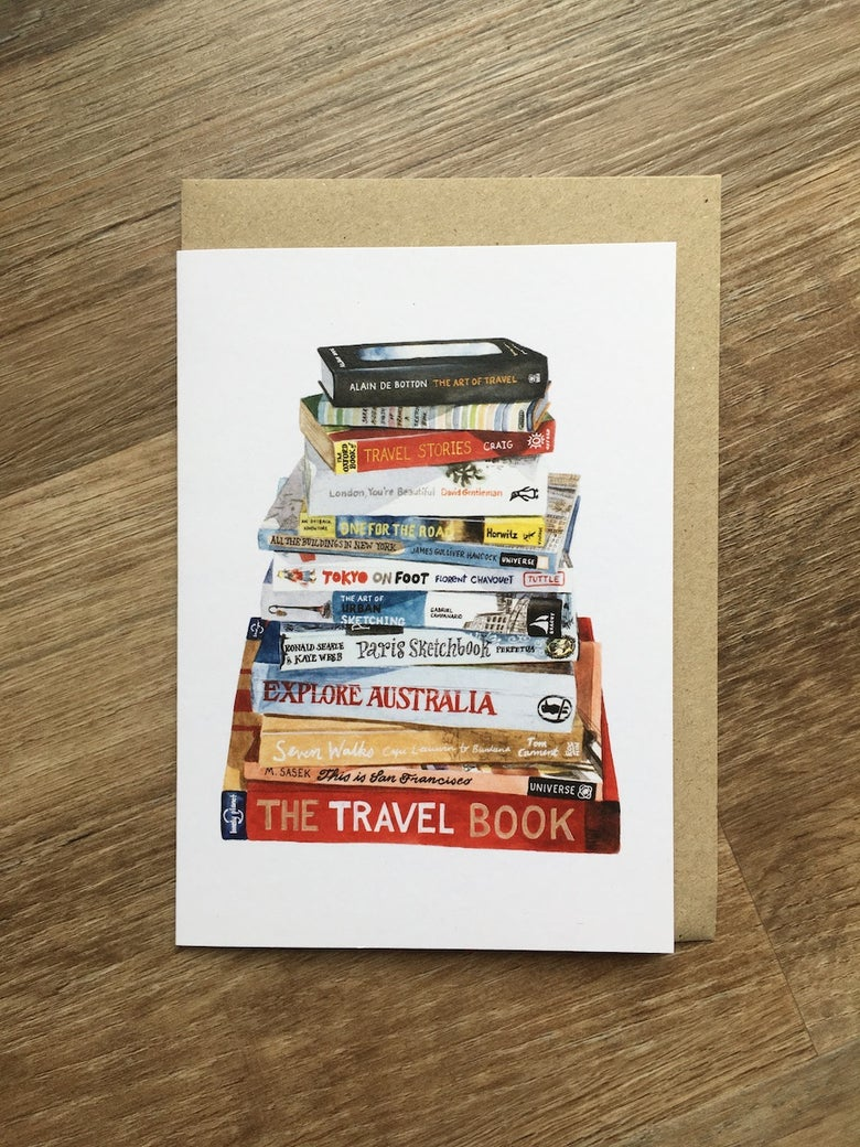 Image of The Art of Travel Greeting Card