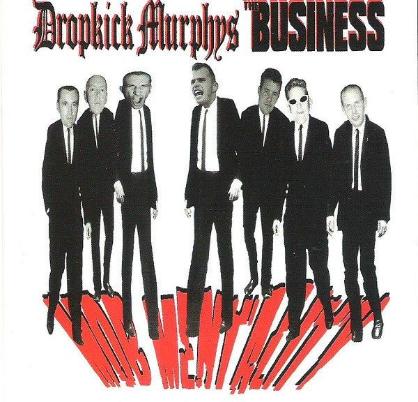 Image of Dropkick Murphys & The Business - Mob Mentality LP