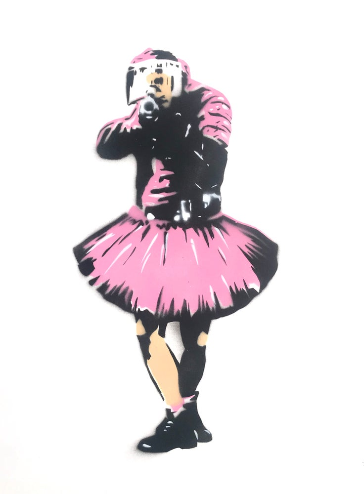 PINK COP (on paper)