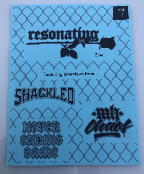 Image of Resonating Zine Vol. 3