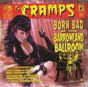 Image of LP. The Cramps : Born Bad At The Barrowland Ballroom.   Ltd edition pink vinyl.