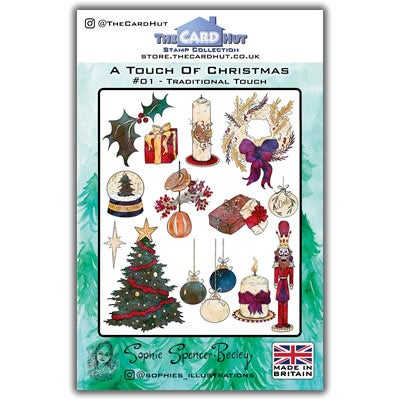 Image of Traditional Touch Christmas Stamp Set